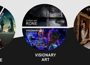 Выставка VR Gallery