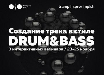 "Вебинар ""Создание трека в стиле Drum&Bass"" c Романом Impish"